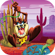 Jungle Taz Adventure World run by app screen