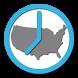 US Timezones clock by Sander van't Veer