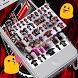 Flamengo Keyboard Theme Emoji by Football Keyboard