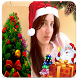 Merry Christmas Photo Stickers by free tools