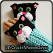 DIY CROCHET WOMEN GLOVES, by carmen masci