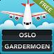 FLIGHTS Oslo Airport by FlightInfoApps.com