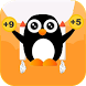 Cute Jumping Penguin by Techyee Solutions