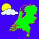 Weer overzicht Nederland by World Info