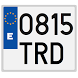 Spanish license plates - date by Miguel Torres