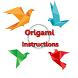 Origami Instructions by Dede Nurul Komaria