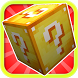 lucky block Mod for MCPE by Pics Touch Art Retouch photo Resident editor evil