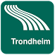 Trondheim Map offline by iniCall.com