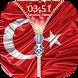Turkey Flag Zipper Lock Screen by Epoch Zipper Studio