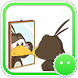 Stickey Cute Little Crow by Awesapp Limited