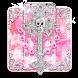 Silver Cross Skull Theme by Best Cool Theme Dreamer