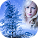 Snowfall Photo Frame by Universal Apps Center