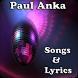 Paul Anka Songs&Lyrics by andoappsLTD