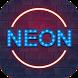 Neon Love Party Keyboard Theme by Echo Keyboard Theme