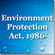 India - Environment Protection Act 1986 by Rachit Technology