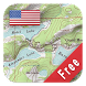 US Topo Maps Free by ATLOGIS Geoinformatics GmbH & Co. KG