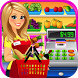 Supermarket Grocery Store Girl by Beansprites LLC