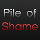 Pile of Shame by Chris Lawn