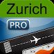 Zurich Airport +Flight Tracker by Webport.com