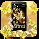 Black Golden Butterfly Theme by Beauty Theme Studio