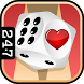Valentine's Day Backgammon by 24/7 Games llc