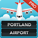 FLIGHTS Portland Airport Pro by FlightInfoApps.com