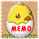Memo Pad Mukitamago (sticky) by peso.apps.pub.arts