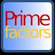 Prime Factor Finder by Jake Baker
