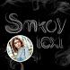 Smoky Text Photo Frame