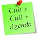 Cuit + Cuil + Agenda by ProbandoCosas