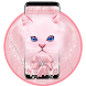 Kawaii Fluffy Cat Face Bow Theme by Astonish Themes Studio
