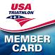 USA Triathlon Card by USAT