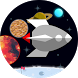 FLAT-galaxy- space travel game by BuildMan