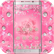 Diamond Pink Rose Theme by SkyCity Apps