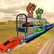 Multi Level Futuristic Train Smart Car Parking by White Sand - 3D Games Studio