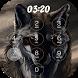 wolf keypad Lock Screen by davo-davo33