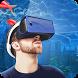 Helmet VR Underwater City 3D