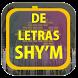 Shy'm de Letras by Karin App Collection