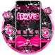 Pink Love Bow Theme by Best Cool Theme Dreamer