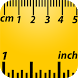 Ruler Inches by COLORBEST