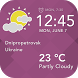 Today Weather Widget by Applock Security