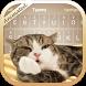 Cute Cat 3D Animated Theme&Emoji Keyboard by Emoji GIF Maker Fans