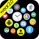 Bubble Widgets + Wear Launcher by DYNA Logix