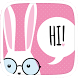Bunny Pink Theme by Heartful Theme