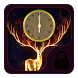 Fire deer luminous theme by Free new hot colorful themes