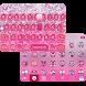 Glitter Bow iKeyboard Theme by Best Keyboard Theme Studio