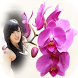 orchid photo frames costume montage editor by Insa Softtech