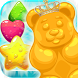 Gummy Bear King by EMRG Games- free games -girl games -match 3 games