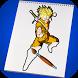 Hero Goku Super Saiyan Coloring Game for Kids by Good Kids Studio