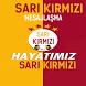 SARI KIRMIZI MESAJLAŞMA by MAT Holding